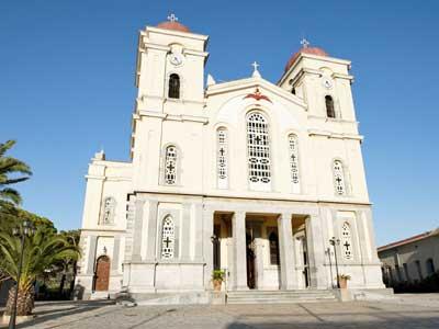 de mooie kerk van Neapoli