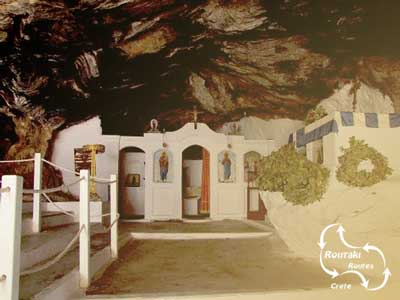 visit the milatos cave during route 58