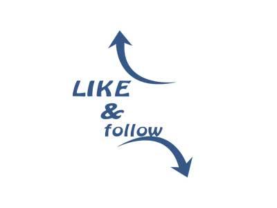 like and follow us on social media