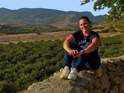 Routaki head freelancer division Crete