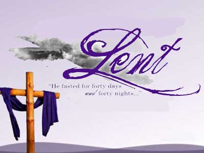 after carnaval is time for fourthy days of lent