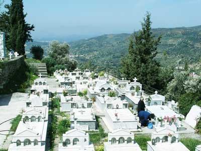 waarom worden overledenen binnen 24 uur begraven op Kreta