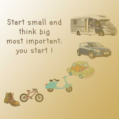 the best way to start is really to start