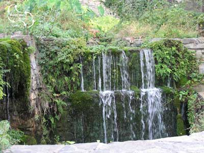 the waterfalls of Argiroupoli in Routaki route 32
