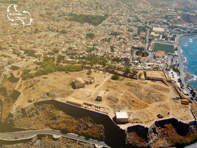het fort van Rethymnon behoort tot het grootste van Kreta.