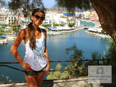 Agios Nicolaos is tot een bruisend toeristen hart van het eiland Kreta verworden.