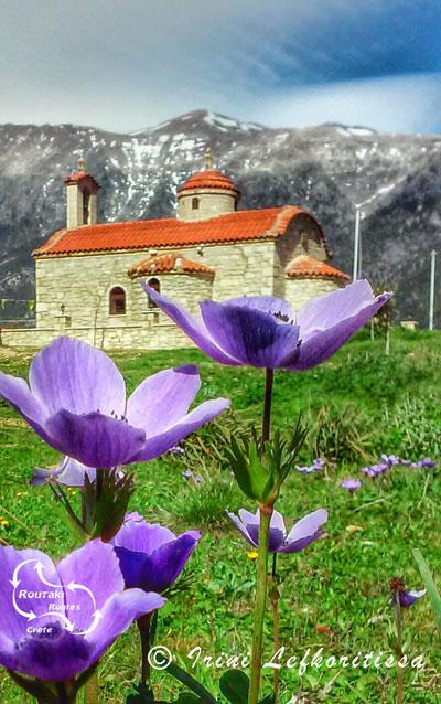 picture made by Irini Lefkoritissa from Agios Nicolaos chapel in Anopoli