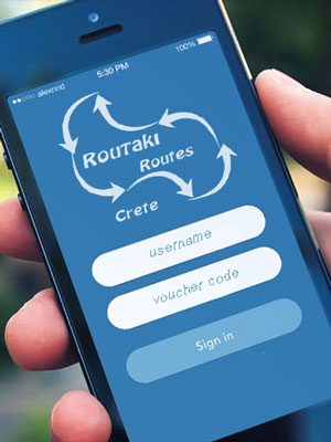 routaki app in the making