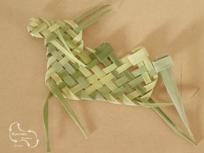 a donkey creation made for palm sunday