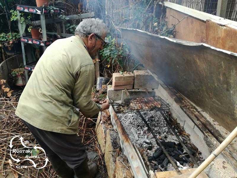 gebruik van houtskool tijdens de vele barbecues