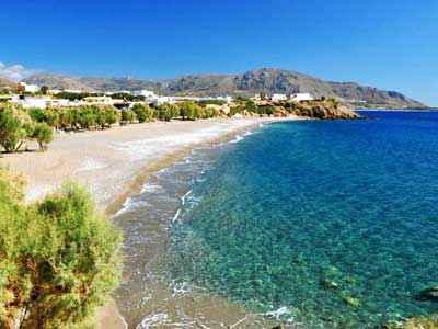 amazing beaches at Makrigialos