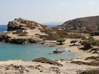 lovely queit beach of Erimoupolis