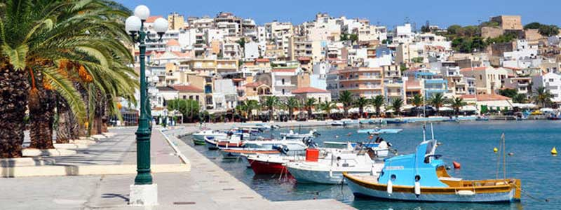 sitia - view over the old harbour