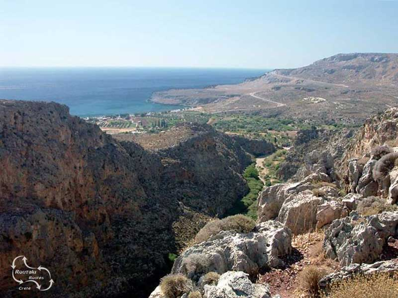 amazing view over kato zakros photo taken by Anthi
