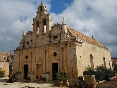 Mr. Routaki kan u ook het Arkadi klooster laten zien.