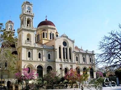 aantal mooie kerken in het centrum van Heraklion