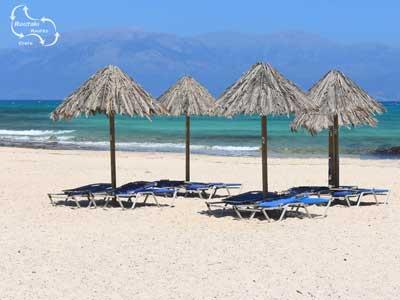 mooie zand stranden en turqiouse wateren