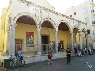 San Marco Basiliek in het centrum van Heraklion