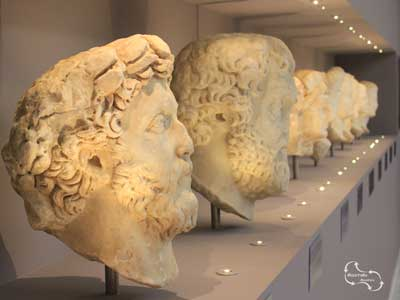 vele bijzondere vondsten van Knossos worden getoont in het archeologisch museum