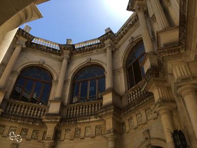 de Venetiaanse Loggia in Heraklion heeft een schitterende bouwstijl
