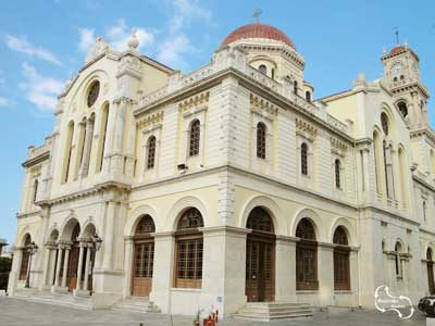 de Agios Minas kerk in Heraklion