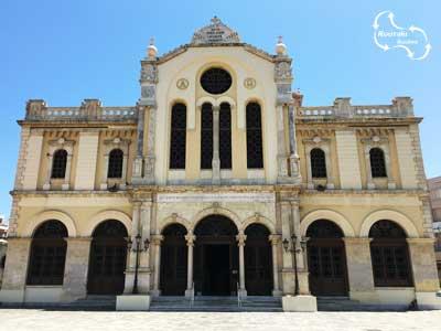 de viering van de inhuldiging van de Agios Minas kerk in 1896 duurde drie dagen lang