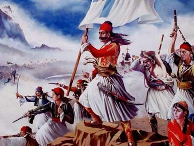1821 staat voor het begin van de Griekse Onafhankelijkheidsoorlog