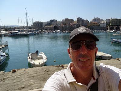 stuur jouw eigen selfie die je maakt tijdens de stadswandeling Heraklion