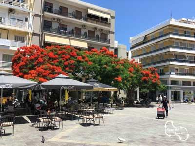 het St. Catharina plein in Iraklio