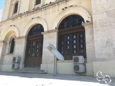 de Duitse bom, die tijdens WO 2 niet afging - het wonder van Agios Minas
