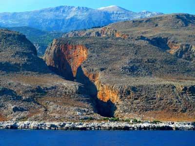 er zijn vele bekende en ook minder bekende kloven op Kreta