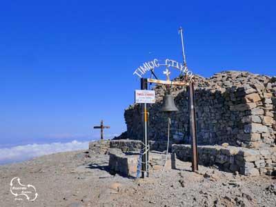 Timios Stavros, het hoogste punt van Kreta - 2.456 meter hoog
