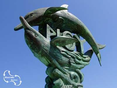 het symbool van Rethymno
