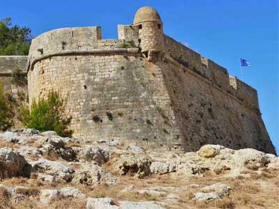 St. Nicholas Bastion, deel van het fortezza van Rethymnon