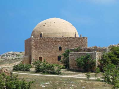De-Sultan-Ibrahim-Han-moskee een belangrijk gebouw op het fortezza