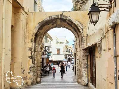 de Nueva Porta in Rethymno