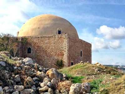 De-Sultan-Ibrahim-Han-moskee op het fortezza