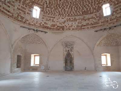Binnen in de-Sultan-Ibrahim-Han-moskee