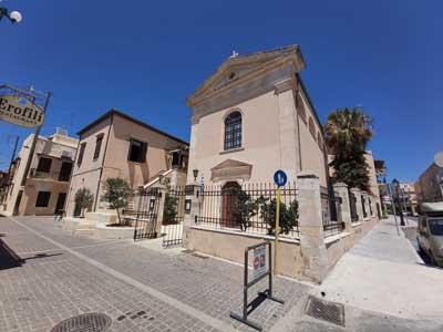 se statige katholieke kerk van Rethymnon